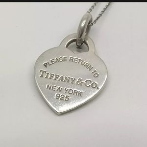 SALE SAT&SUN ONLY Auth Tiffany & Co Heart Necklace